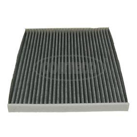 Filter, Innenraumluft Länge: 265mm, Breite: 215mm, Höhe: 21mm mit OEM-Nummer 1808 012