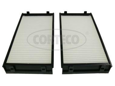 CORTECO  80000847 Filter, Innenraumluft Länge: 295mm, Breite: 138mm, Höhe: 34mm