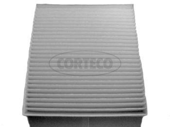 CORTECO  80001189 Filter, Innenraumluft Länge: 215mm, Breite: 193mm, Höhe: 25mm