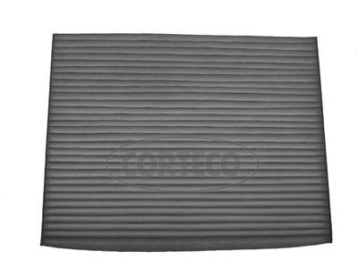 CORTECO  80001214 Filter, Innenraumluft Länge: 187mm, Breite: 238mm, Höhe: 19mm