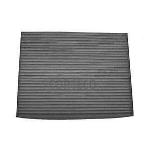 Filter, Innenraumluft Länge: 187mm, Breite: 238mm, Höhe: 19mm mit OEM-Nummer 9999Z07026