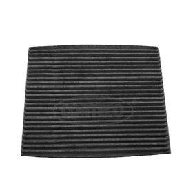 Filter, Innenraumluft Länge: 187mm, Breite: 238mm, Höhe: 19mm mit OEM-Nummer 9999Z-07026