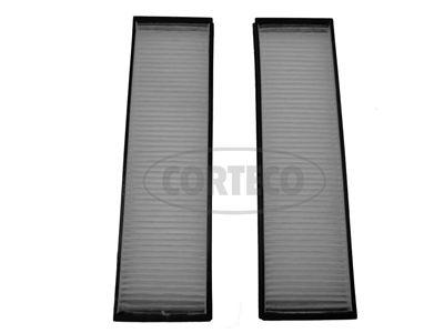 CORTECO  80001448 Filter, Innenraumluft Länge: 288mm, Breite: 82mm, Höhe: 19mm