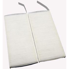 Filter, Innenraumluft Länge: 239mm, Breite: 108mm, Höhe: 20mm mit OEM-Nummer 7701 209 837