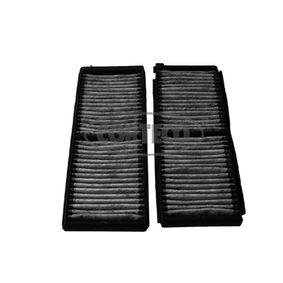 CORTECO  80001743 Filter, Innenraumluft Länge: 247mm, Breite: 95mm, Höhe: 17mm