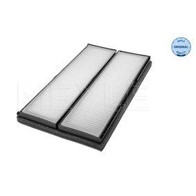 Filter, Innenraumluft Länge: 368mm, Breite: 200mm, Höhe: 25mm mit OEM-Nummer 001-835-3047