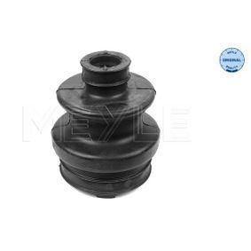 Faltenbalg, Antriebswelle Innendurchmesser 2: 22mm, Innendurchmesser 2: 64mm mit OEM-Nummer 124 350 0237