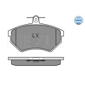 Bremsbelagsatz, Scheibenbremse Breite: 119,2mm, Höhe: 69,6mm, Dicke/Stärke: 16,2mm mit OEM-Nummer 1HM.698.151A