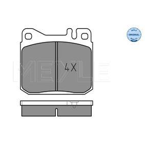 Bremsbelagsatz, Scheibenbremse Breite: 89,7mm, Höhe: 73,8mm, Dicke/Stärke: 17,5mm mit OEM-Nummer A0014207520