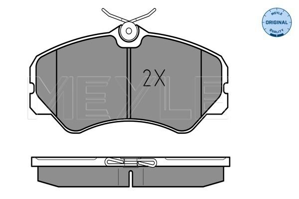 Bremsbelagsatz MEYLE MBP0093 Bewertung