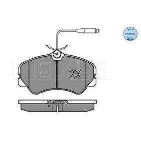 Bremsbelagsatz, Scheibenbremse Breite: 145mm, Höhe: 71,6mm, Dicke/Stärke: 19,5mm mit OEM-Nummer 9 945 076