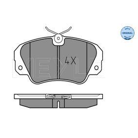 Bremsbelagsatz, Scheibenbremse Breite: 129,85mm, Höhe: 63,9mm, Dicke/Stärke: 18,5mm mit OEM-Nummer 16 05 004