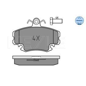 Bremsbelagsatz, Scheibenbremse Breite: 100mm, Höhe: 64,6mm, Dicke/Stärke: 18,1mm mit OEM-Nummer 7701201773