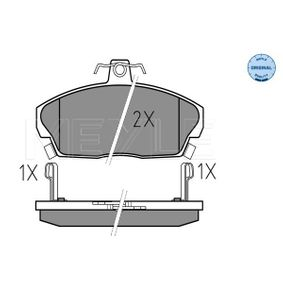 Комплект спирачно феродо, дискови спирачки ширина: 129,1мм, височина: 68,6мм, дебелина: 18мм с ОЕМ-номер GBP90313