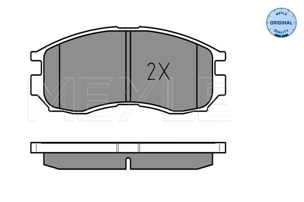 Bremsbelagsatz MEYLE MBP0172 Bewertung