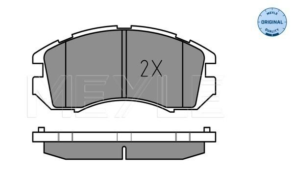 Bremsbelagsatz MEYLE MBP0190 Bewertung