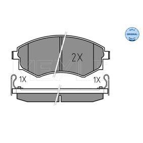Bremsbelagsatz, Scheibenbremse Breite: 137,2mm, Höhe: 54,2mm, Dicke/Stärke: 17mm mit OEM-Nummer 5810129A40