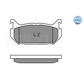 Bremsbelagsatz, Scheibenbremse Breite: 100,2mm, Höhe: 43,7mm, Dicke/Stärke: 13,3mm mit OEM-Nummer G5Y5 26 43Z