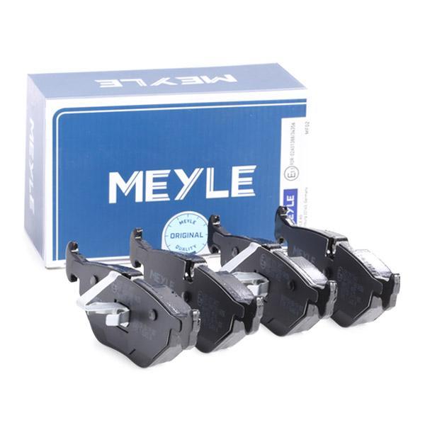 Bremsklötze MEYLE MBP0231 Erfahrung