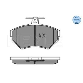 Bremsbelagsatz, Scheibenbremse Breite: 118,9mm, Höhe: 69,4mm, Dicke/Stärke: 15,9mm mit OEM-Nummer 1HM698151A