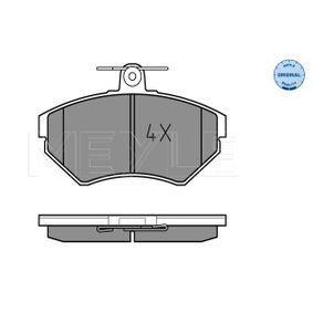 Bremsbelagsatz, Scheibenbremse Breite: 118,9mm, Höhe: 69,4mm, Dicke/Stärke: 15,9mm mit OEM-Nummer 1HM 698 151.