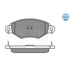 Bremsbelagsatz, Scheibenbremse Breite: 130,6mm, Höhe: 47,2mm, Dicke/Stärke: 18mm mit OEM-Nummer 1720.82