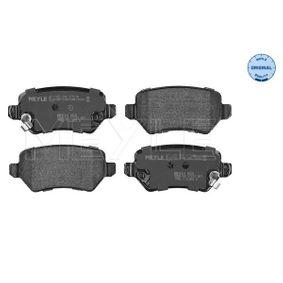 Bremsbelagsatz, Scheibenbremse Breite: 95,5mm, Höhe: 42,5mm, Dicke/Stärke: 15,2mm mit OEM-Nummer 93176 118