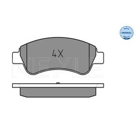 Brake Pad Set, disc brake Width: 136,7mm, Height: 51,6mm, Thickness: 19mm with OEM Number E172124