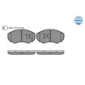 Комплект спирачно феродо, дискови спирачки Артикул № 025 239 1719/W 370,00BGN