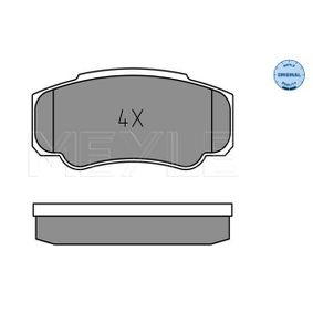 Bremsbelagsatz, Scheibenbremse Breite: 109,5mm, Höhe: 49,8mm, Dicke/Stärke: 20,1mm mit OEM-Nummer 4254.68