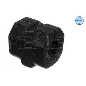 MEYLE Lagerung, Stabilisator 100 411 0013 für AUDI 100 (44, 44Q, C3) 1.8 ab Baujahr 02.1986, 88 PS