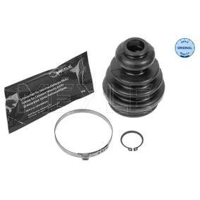 Faltenbalgsatz, Antriebswelle Innendurchmesser 2: 23mm, Innendurchmesser 2: 57,5mm mit OEM-Nummer 7H0498201