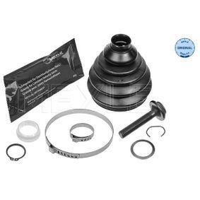 Faltenbalgsatz, Antriebswelle Innendurchmesser 2: 29mm, Innendurchmesser 2: 97mm mit OEM-Nummer 3B0498203F