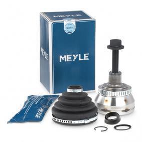 MEYLE Gelenksatz, Antriebswelle 100 498 0064 für AUDI A4 Avant (8E5, B6) 3.0 quattro ab Baujahr 09.2001, 220 PS