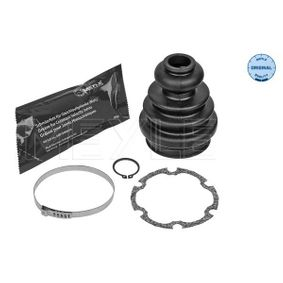 Faltenbalgsatz, Antriebswelle Innendurchmesser 2: 23mm, Innendurchmesser 2: 57mm mit OEM-Nummer 701498201