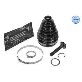 Faltenbalgsatz, Antriebswelle Innendurchmesser 2: 29mm, Innendurchmesser 2: 98mm mit OEM-Nummer 7M0498203