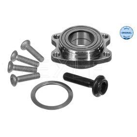 Wheel Bearing Kit Ø: 82mm, Inner Diameter: 43mm with OEM Number 8E0498625B