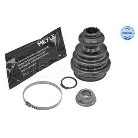 Faltenbalgsatz, Antriebswelle Innendurchmesser 2: 23mm, Innendurchmesser 2: 57mm mit OEM-Nummer 1J0 498 201 E