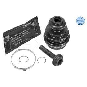 Faltenbalgsatz, Antriebswelle Innendurchmesser 2: 23mm, Innendurchmesser 2: 57mm mit OEM-Nummer 7M0 498 201