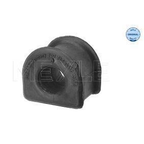 MEYLE Lagerung, Stabilisator 100 715 0001 für AUDI A4 Avant (8E5, B6) 3.0 quattro ab Baujahr 09.2001, 220 PS