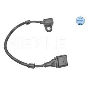 Sensor, posición arbol de levas Número de polos: 3polos, Long. cable: 280mm con OEM número 038957147G