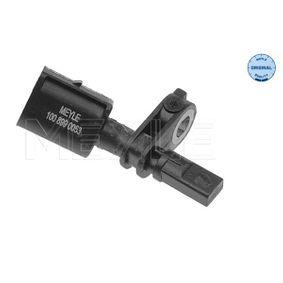 Sensor, wheel speed 100 899 0053 Fabia 2 (542) 1.6 TDI MY 2011
