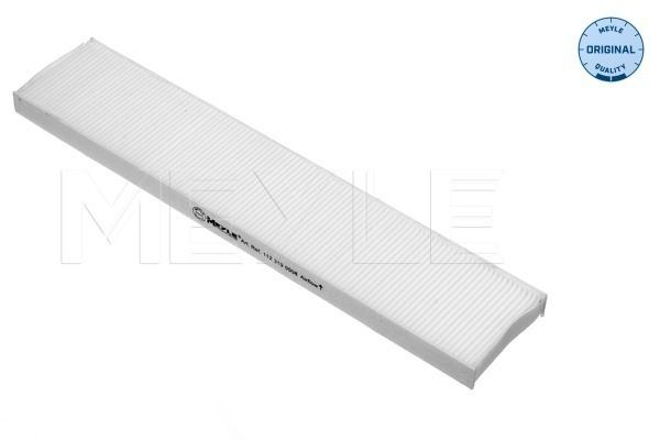 MEYLE  112 319 0008 Filter, Innenraumluft Länge: 535mm, Breite: 110mm, Höhe: 25mm
