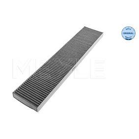 Filter, Innenraumluft Länge: 536mm, Breite: 110mm, Höhe: 25mm mit OEM-Nummer 1 491 752