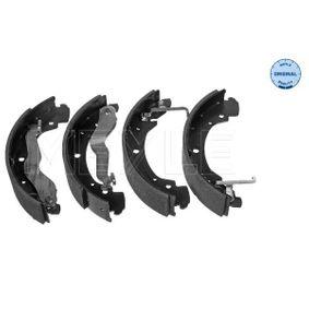 Bremsbackensatz Breite: 55mm mit OEM-Nummer 701698525