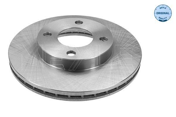 MEYLE  115 521 1003 Bremsscheibe Bremsscheibendicke: 22mm, Lochanzahl: 4, Ø: 256mm