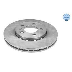 Bremsscheibe Bremsscheibendicke: 22mm, Lochanzahl: 5, Ø: 256mm mit OEM-Nummer 6R0 615 301C