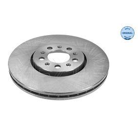 MEYLE  115 521 1051 Bremsscheibe Bremsscheibendicke: 25mm, Lochanzahl: 5, Ø: 288mm