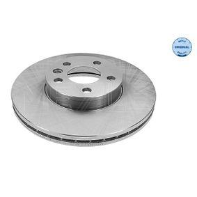 Bremsscheibe Bremsscheibendicke: 26mm, Lochanzahl: 5, Ø: 300mm mit OEM-Nummer 1 141 782