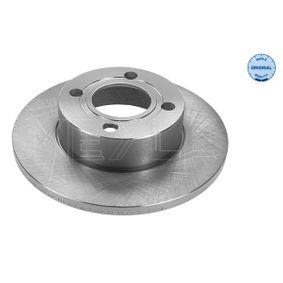 Bremsscheibe Bremsscheibendicke: 13mm, Lochanzahl: 4, Ø: 256mm mit OEM-Nummer 895 615 301
